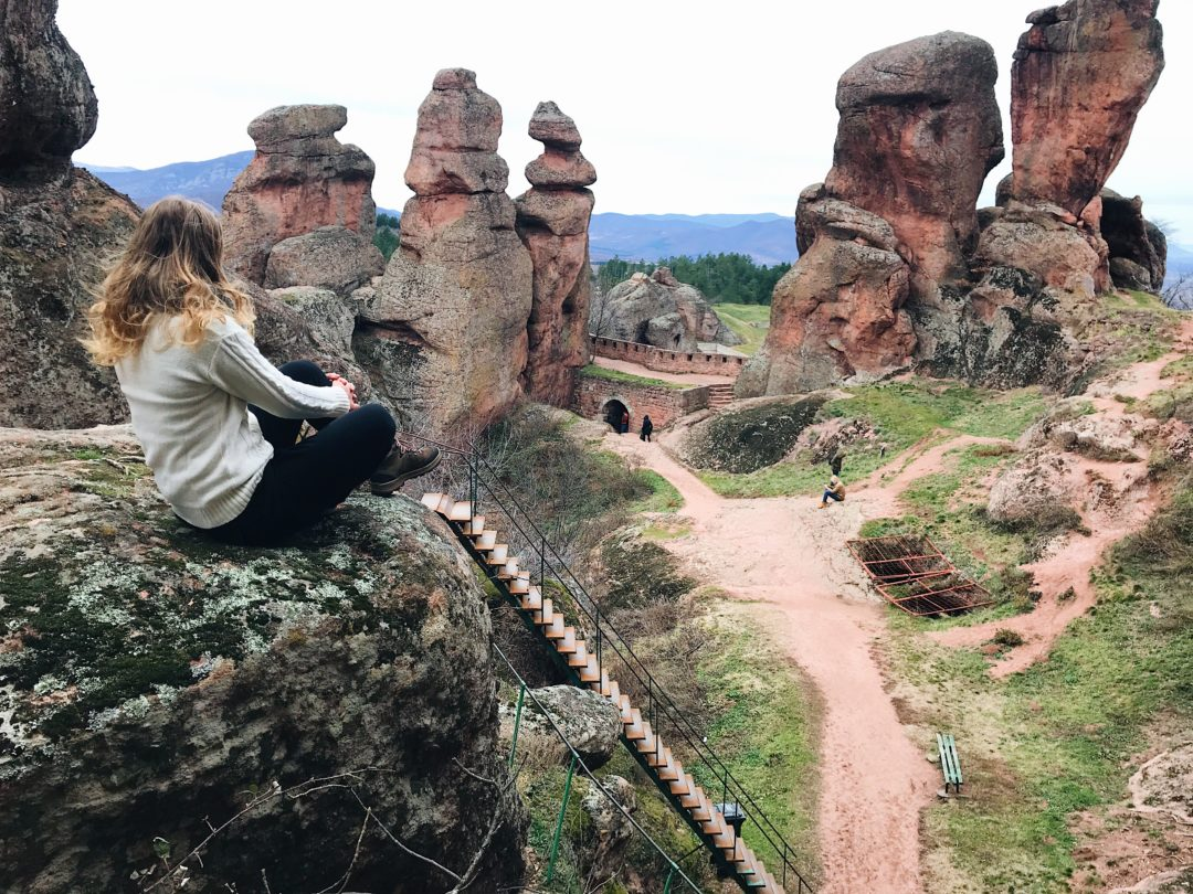 Belogradchik fortress in Bulgaria – Stamps on the passport